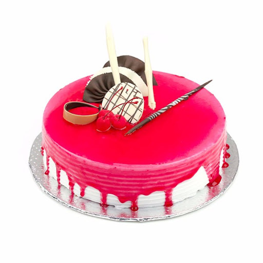 Strawberry Cool Cake