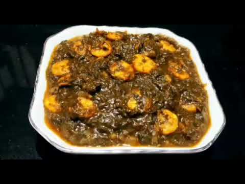 Gongura Prawns Curry