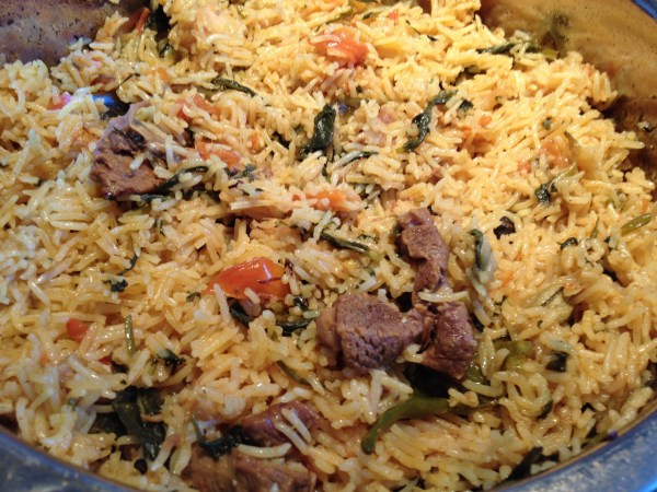 Special Mutton Fried Rice