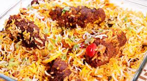 Kabab Biryani