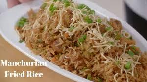 Veg Manchuria Fried Rice