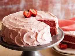strawberry cool cake
