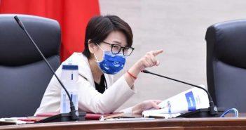 北市副市長黃珊珊表示,華航女機師基因定序確定為Delta,但台北市衛生局今(7日)卻表示,完整序列比對尚未出爐。(圖/翻攝自臉書/黃珊珊)