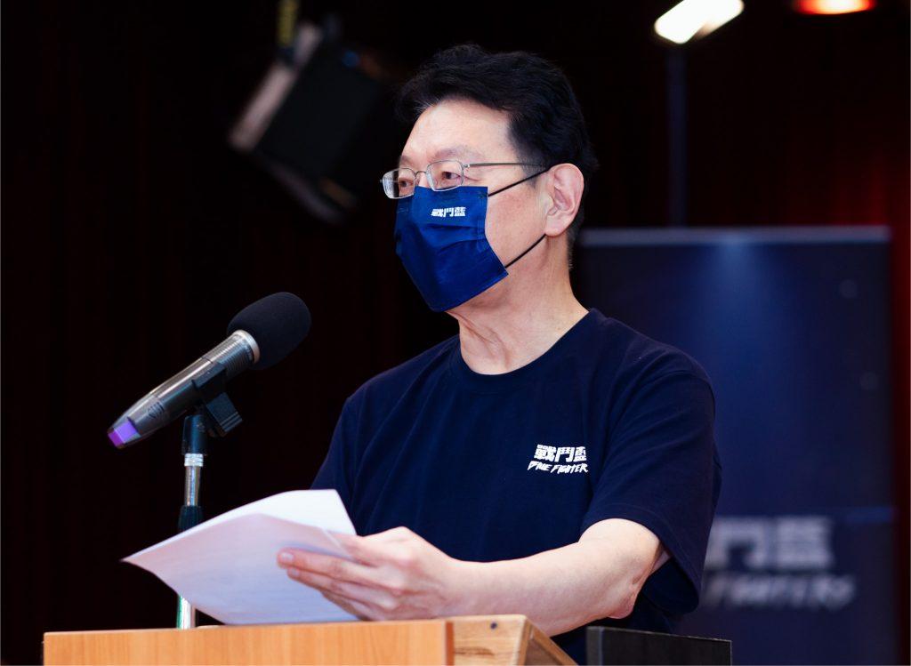 趙少康怒嗆,「納稅人的18.6億的血汗錢究竟花到哪」。(圖/翻攝自《趙少康》臉書)