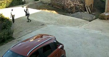 男子遭鄰居殺害。(圖/翻攝自「九州新聞」微博)