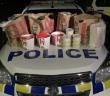 紐西蘭有民眾因為車內載「大量肯德基」被捕。(圖/翻攝自Facebook/NZ Police Association)