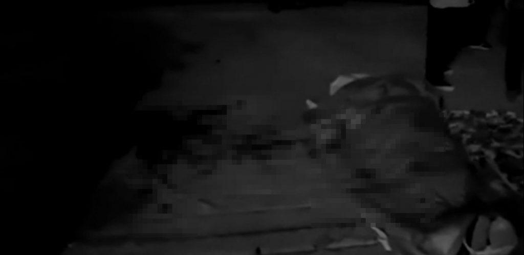男子遭鄰居殺害。(圖/翻攝自「沸點新聞」微博)