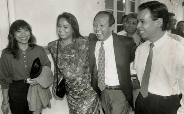 前副首相慕沙希淡的兒子、媳婦也在這場災難中喪生。(圖/翻攝自The Star)