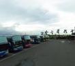 東石漁人碼頭停車場驚見一對男女在車內燒炭。(圖/翻攝GoogleMaps)