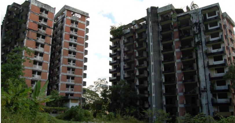 淡江高峰塔是馬來西亞國內首屈一指的豪宅區。(圖/翻攝自維基百科)