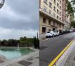 一名自稱來自2027的男子在TikTok上曝光未來的街景。(圖/合成圖/取自TikTok)
