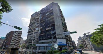 錦新大樓被稱為「台北第一凶宅」。(圖/取自GoogleMaps)