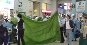 東京上野站傳出隨機殺人。(圖/推特)