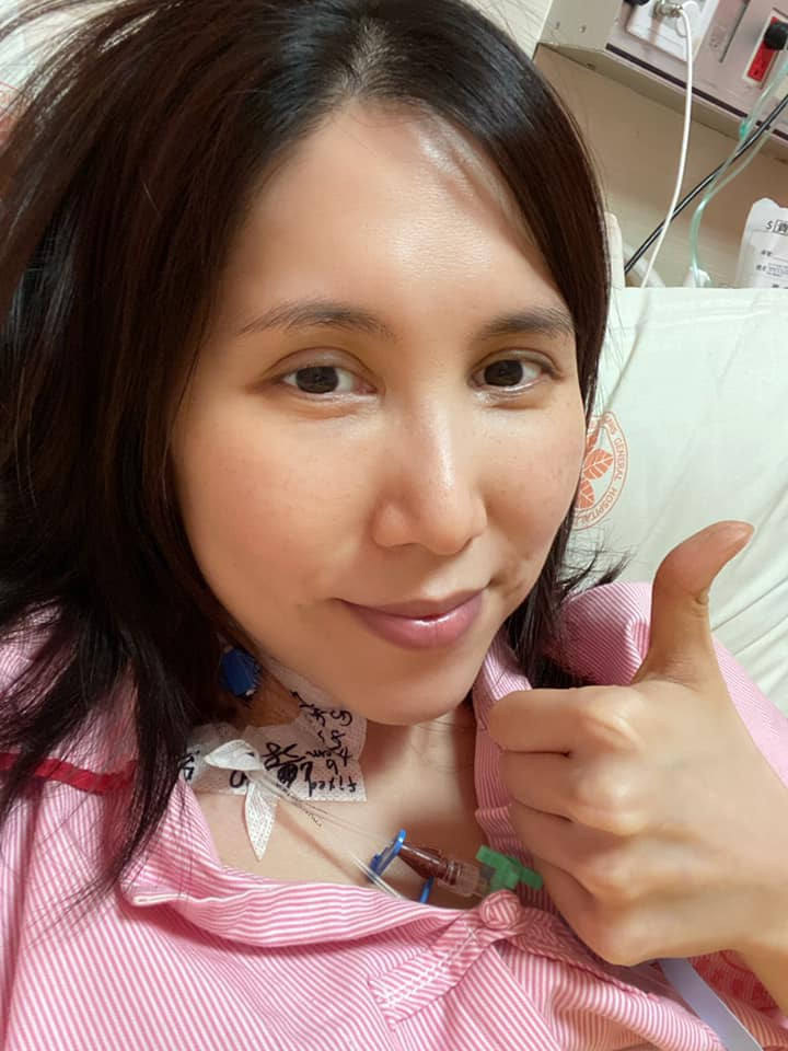 余苑綺今年7月才剛進行一場長達17小時的手術。(圖/翻攝自微博)