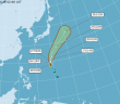 颱風路徑。(圖/中央氣象局)