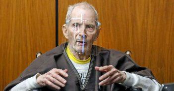 美國富豪杜斯特(Robert Durst)於2000年殺害摯友柏曼,今天被判處無期徒刑,不得假釋。 (圖/ 翻攝Twitter@Nightline )