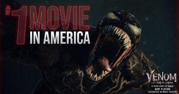 《猛毒2:血蜘蛛》全美於10月1日上映,首週有望開出亮眼成績。(圖/翻攝自《猛毒2》官方推特)