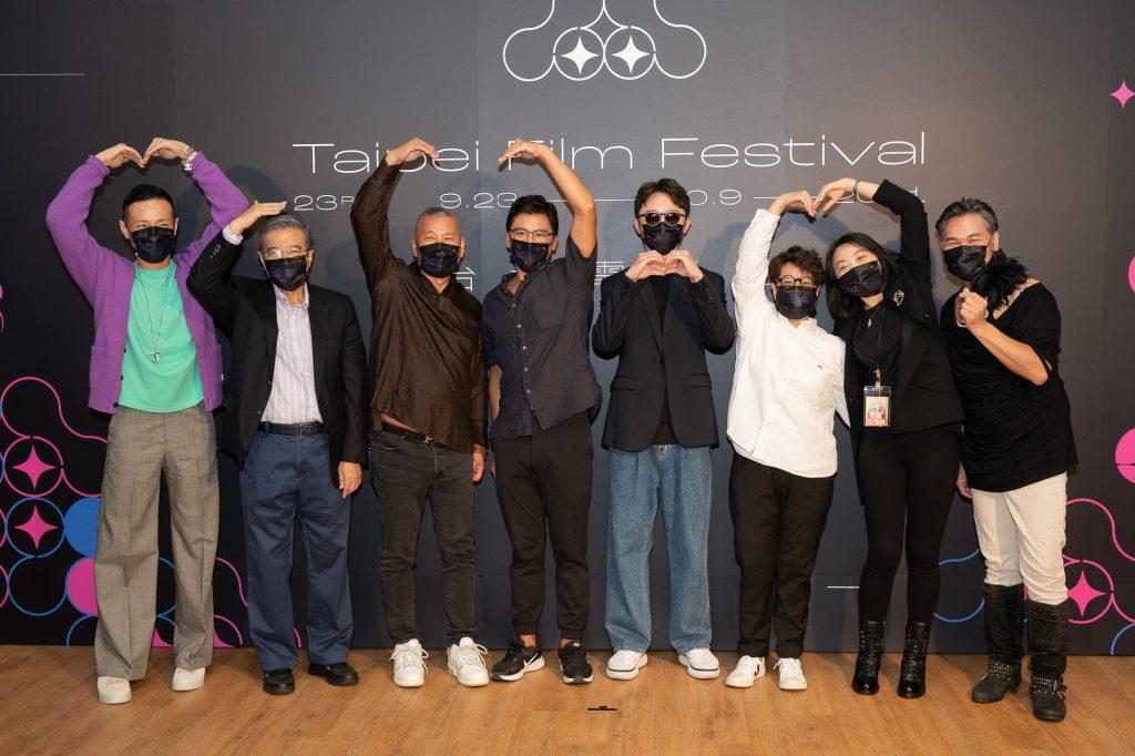 監製李耀華、葉育萍、Dunca、金勤等人出席映後與觀眾見面。(圖/CATCHPLAY提供)