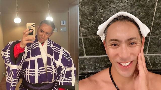 市川海老藏身為歌舞伎演員,也參與不少日劇演出,今年更登上東京奧運開幕式表演。(圖/翻攝自IG)
