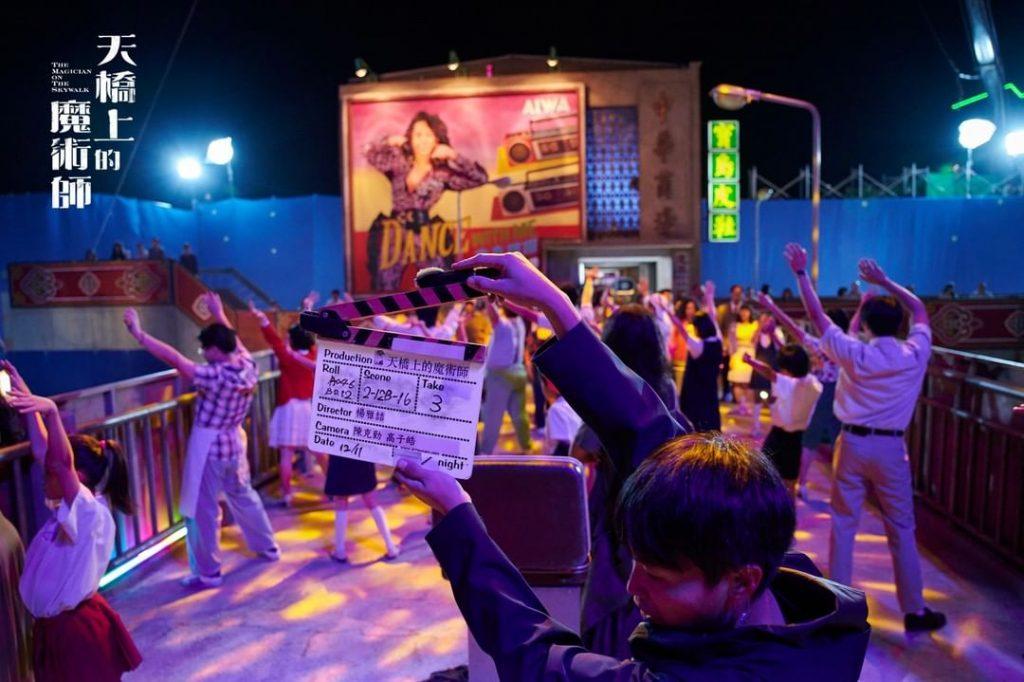 《天橋上的魔術師》打造出70、80年代的回憶「中華商場」。(圖/翻攝自IG)