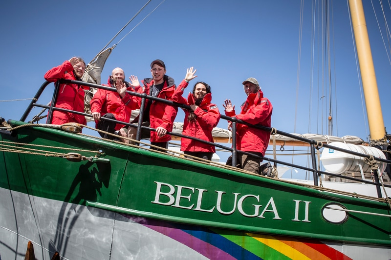 Image for Bon Voyage! The Beluga II Sets Sail!
