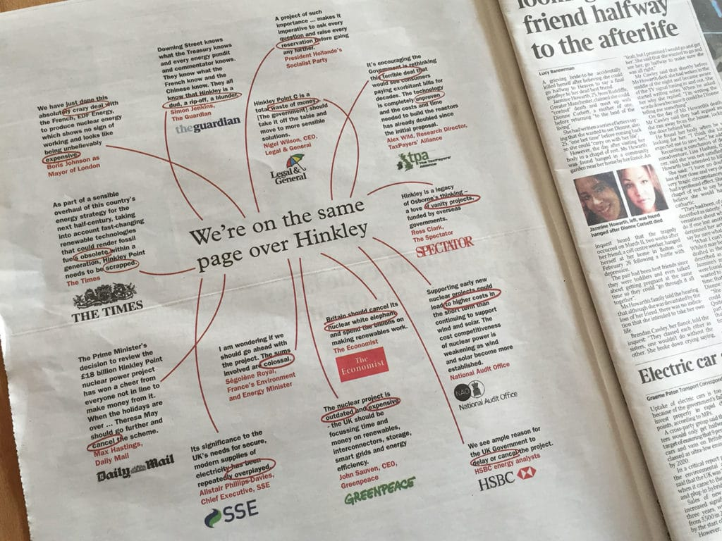 Image for Thousands of people just chipped in to get this in The Times