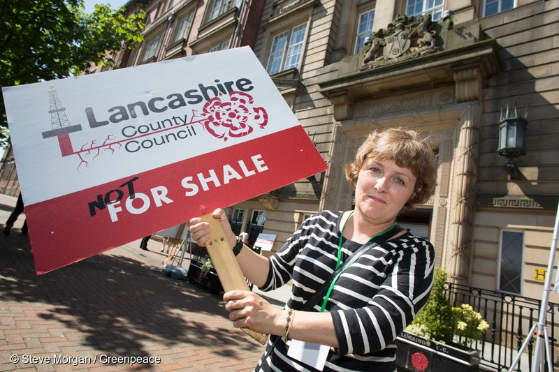 Image for Join us in Lancashire for a rally to say NO to fracking