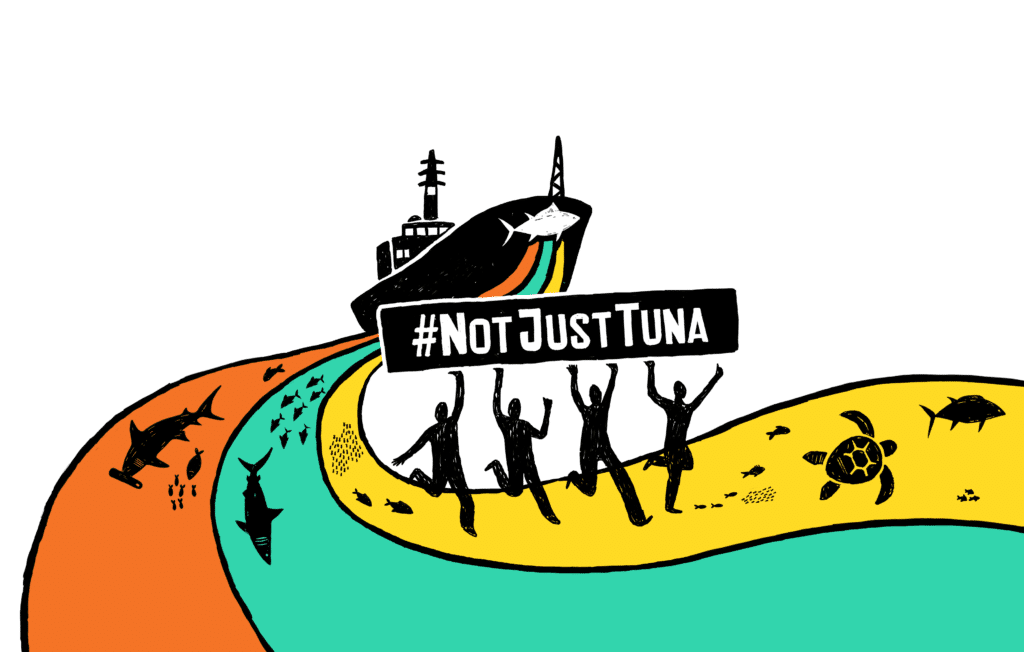 Image for On the trail of John West dirty tuna in the Indian ocean