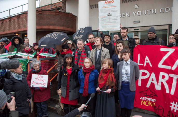 Image for Anti Third Runway Activists Get Their Day In Court