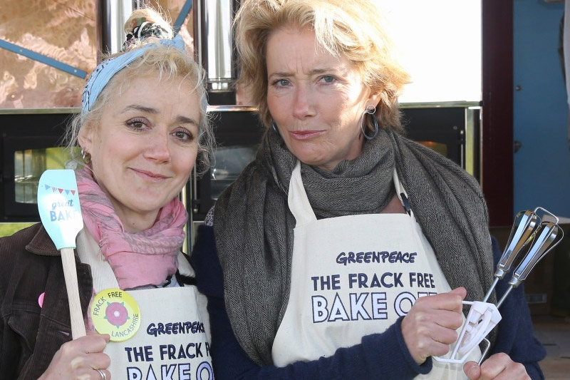 Image for Emma Thompson: Welcome to the Frack Free Bake Off!