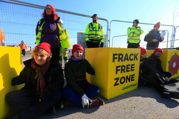Image for Breaking news: We're blocking Cuadrilla's fracking site