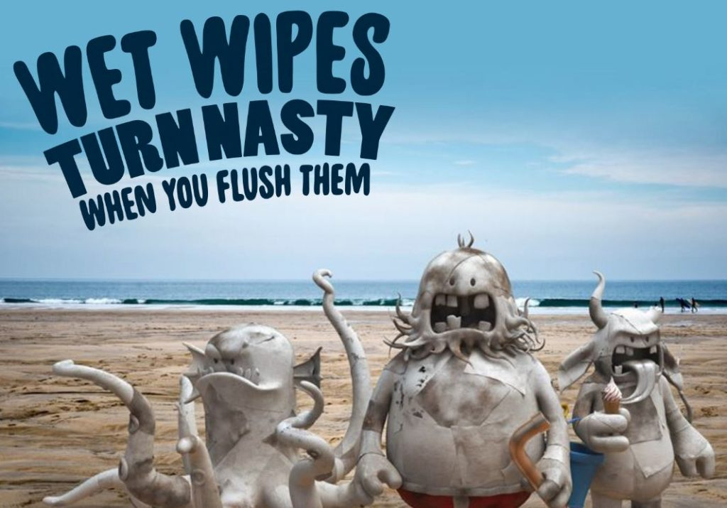 Image for When wet wipes turn nasty!
