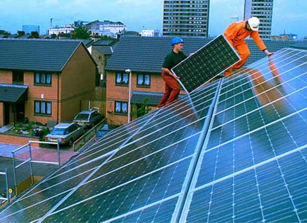 Image for Government U-turn: Osborne Drops Plan To Hike Up The Cost Of Solar Panels