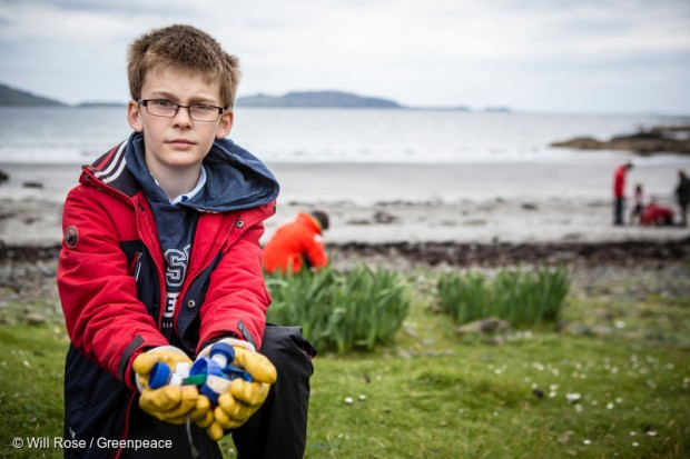 Image for Plastics beach clean on the Isle of Mull