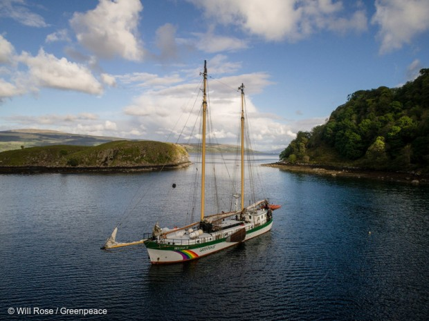 Greenpeace ship Beluga II