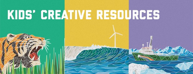 Image for Make for change – resources for kids who want to help protect the environment