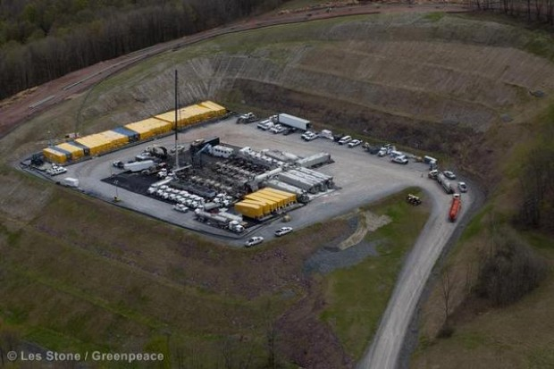 Fracking for natural gas in Pennsylvania