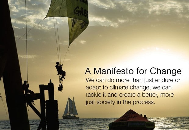 Image for A Manifesto for Change