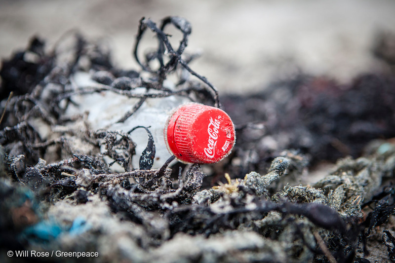 Image for If you care so much, Coke, why aren't your bottles 100% recycled?