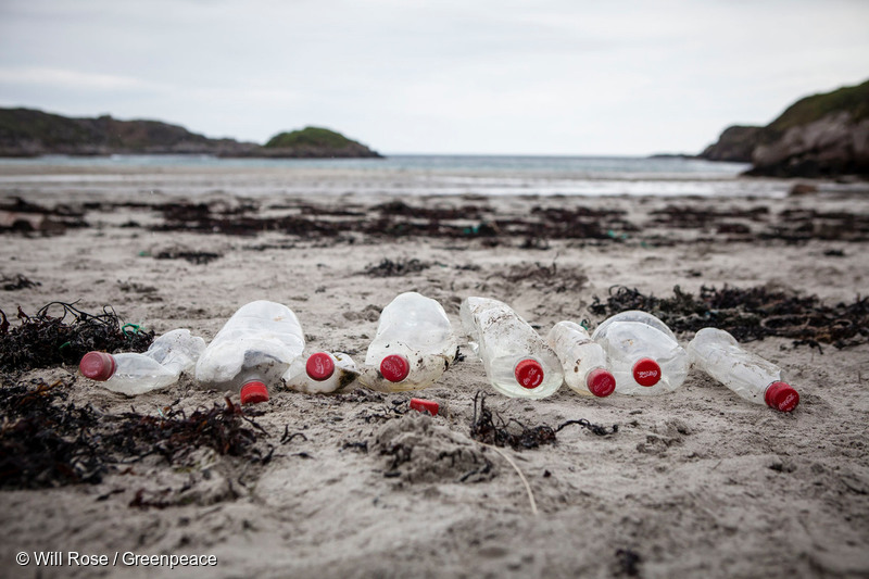 Image for Coke are still choking our oceans: Our response to Coca-Cola's PR spin
