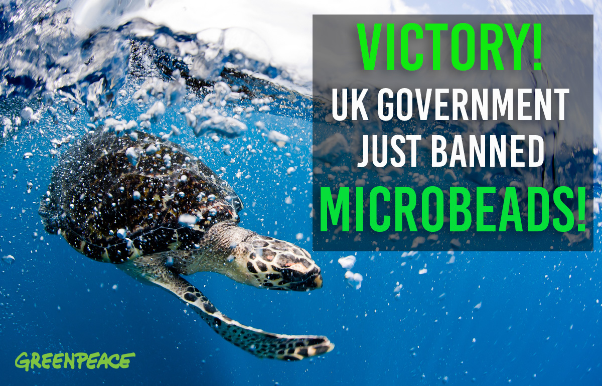 Image for Microbeads – We won!