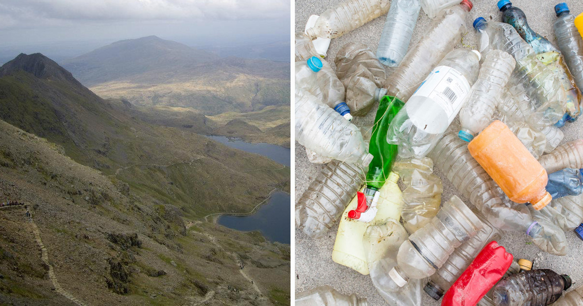 Image for Plastic pollution in Wales