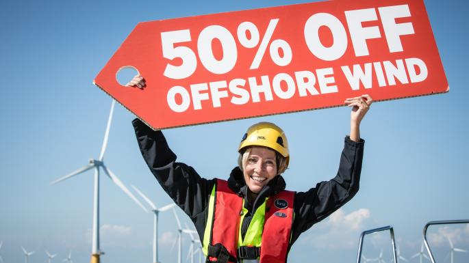 Image for New offshore wind power is now (much) cheaper than nuclear