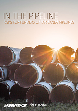 Image for In the Pipeline: Risks for Funders of Tar Sands Pipelines