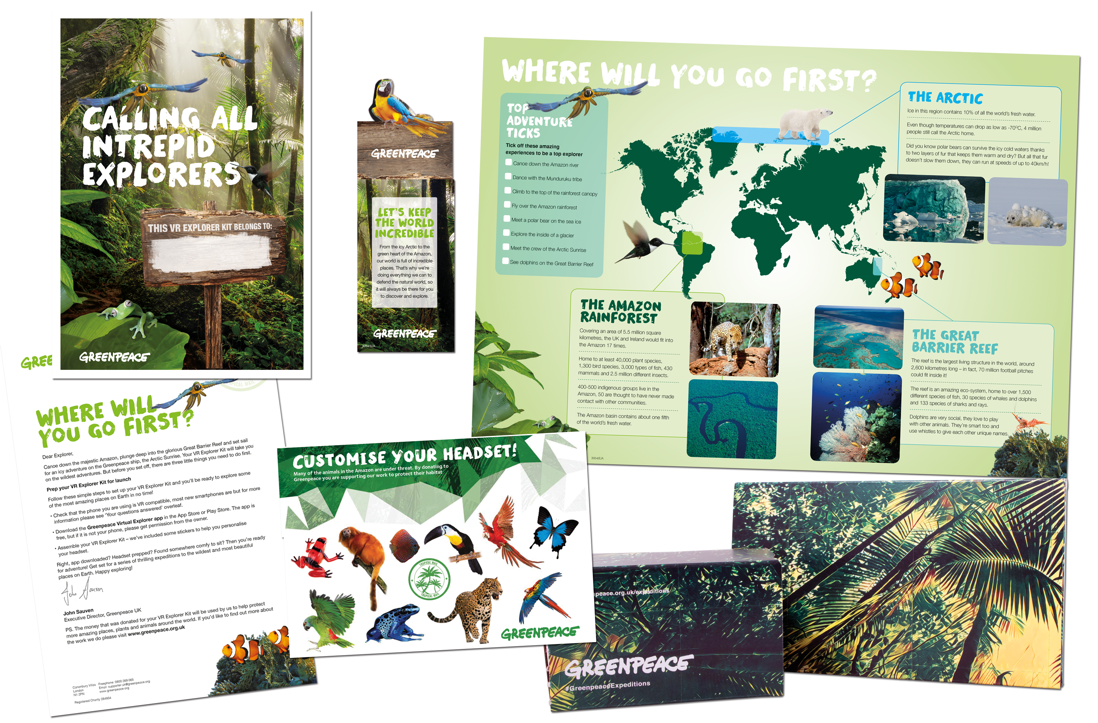 Image for Buy Greenpeace Virtual Reality Explorer Kit