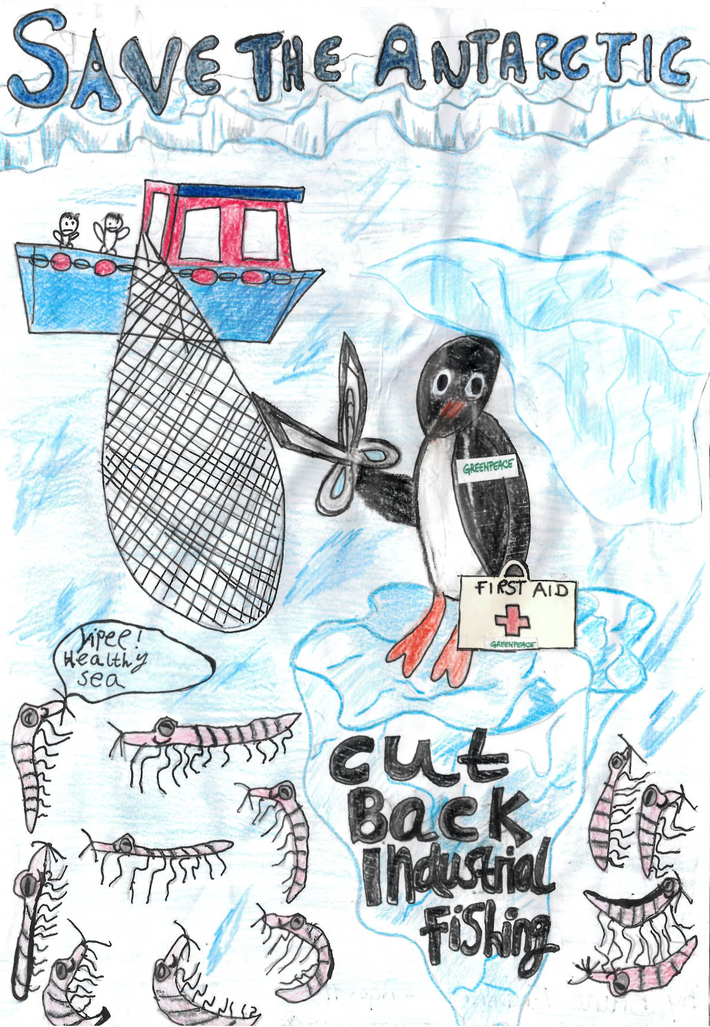Image for Nat Geo KiDs: Winners of the Greenpeace poster competition announced