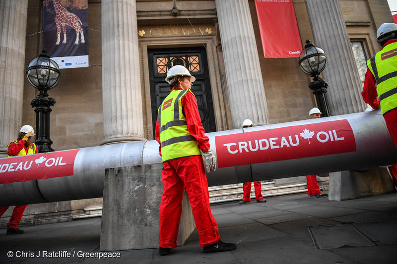 Image for Climate leaders don't build tar sands pipelines