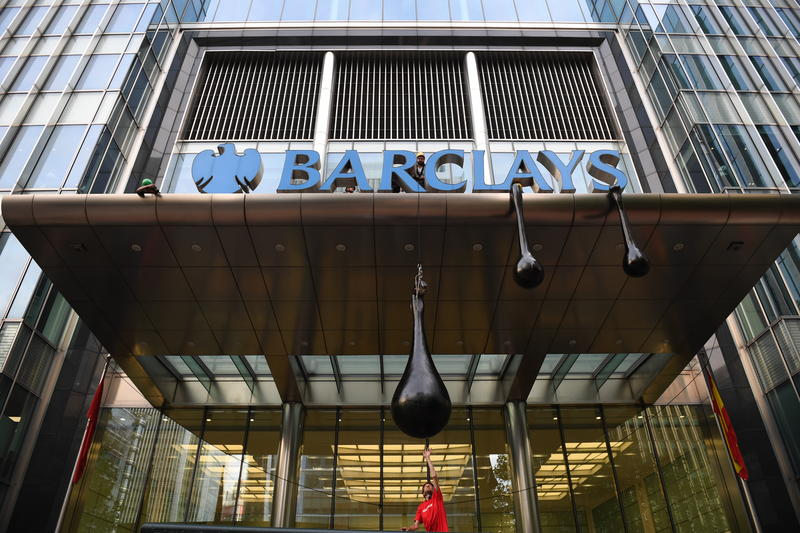 Image for Why Greenpeace blocked Barclays' HQ