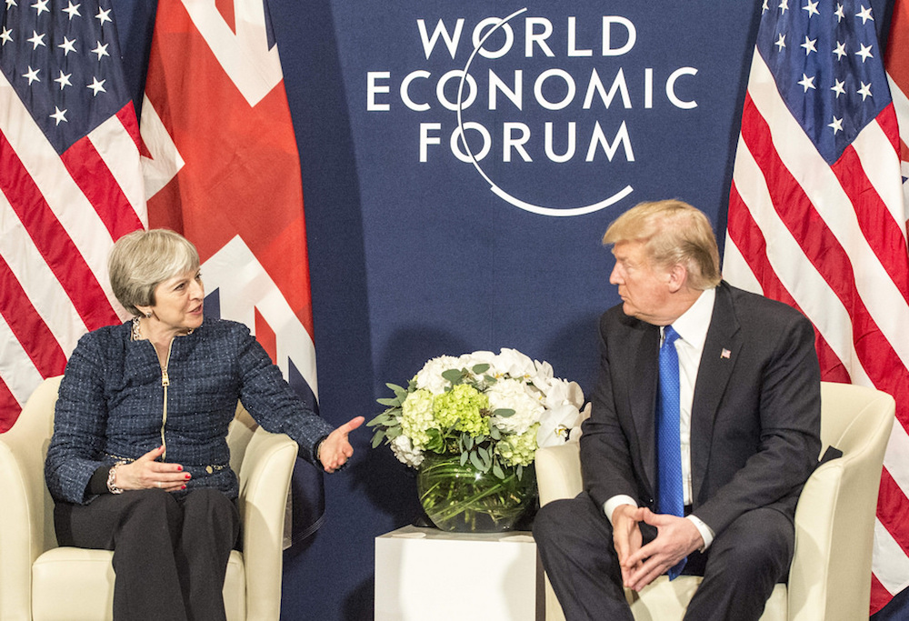 Image for How Theresa May can stop Trump from trashing the environment
