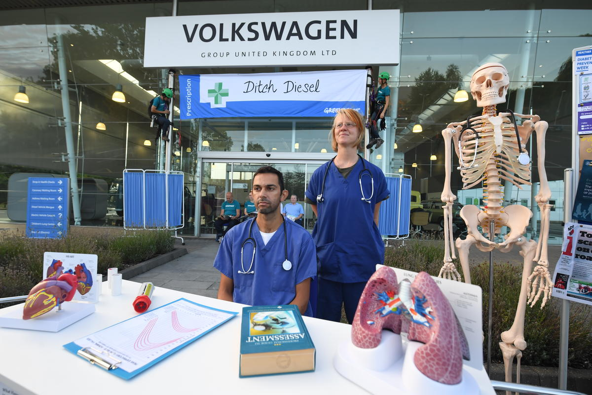 Image for Why I joined Greenpeace to close down Volkswagen's UK headquarters